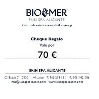 Skin Spa Alicante - Cheque Regalo 70 €