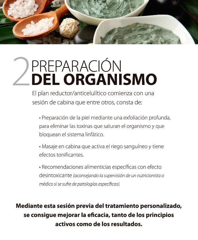 Preparación del organismo