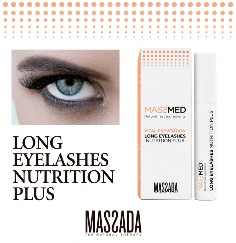 Massada - Long eyelashes nutrition plus