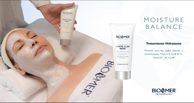 Tratamiento facial Moisture balance Skin Spa Alicante by BIOMER