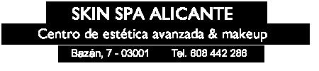 Skin Spa Alicante