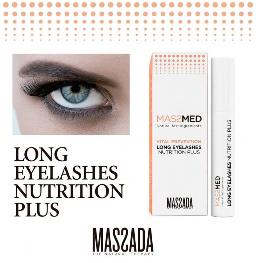 Massada - Long eyelashes nutrition plus